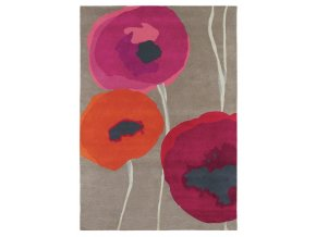 Koberec Sanderson - POPPIES 45700 Red Orange