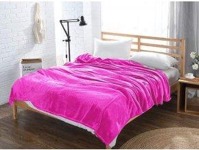 Deka SKAY 160x200 cm Růžový