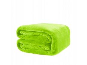 Deka SOFT 160x200 cm Zelený