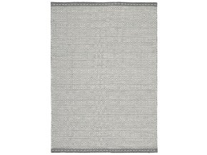 KNOX REVERSIBLE WOOL DHURRY GREY