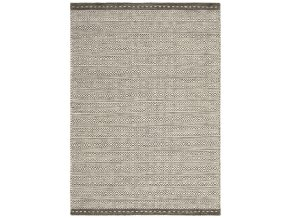 KNOX REVERSIBLE WOOL DHURRY TAUPE