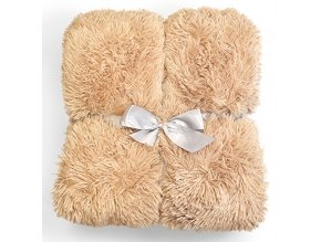 Plyšová deka - Béžová