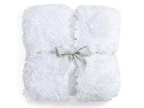 Plyšová deka - Levandulová