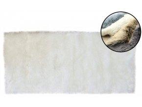 Kusový koberec ALJAŠKA - Alabastrový