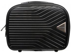 Cestovní Kosmetický Kufřík TITAN - Černý