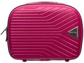 Cestovní Kosmetický Kufřík TITAN - Růžový