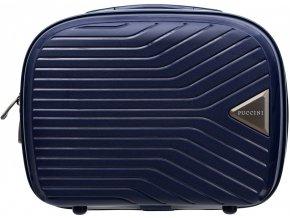 Cestovní Kosmetický Kufřík TITAN - Tmavě Modrý