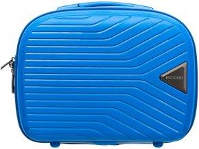 Cestovní Kosmetický Kufřík TITAN - Modrý