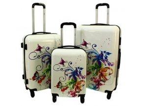 Cestovní Kufr BUTTERFLY - Multicolor