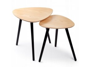 Konferenční stolek NESSO ve skandinávském stylu 2 ks