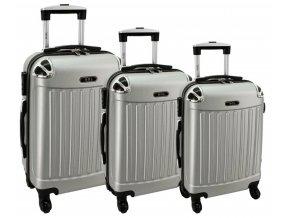 Cestovní Kufr AERO - Stříbrný