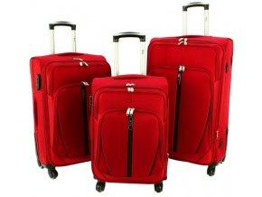 Cestovní kufr HYPER - Červený