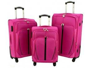 Cestovní Kufr HYPER - Růžový