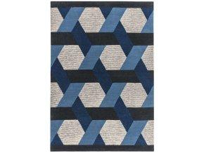 camden rug blue