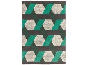 camden rug green