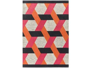 camden rug orange