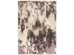 saturn rug heather woolen print