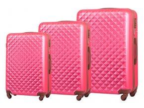 Cestovní Kufr BRILLIANT - Růžový