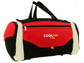 Cestovní Taška COOL TRIP - Červený-Černý