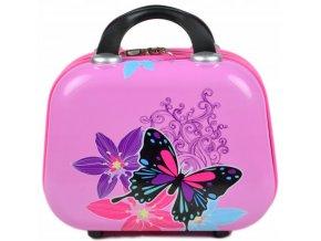 Dětský Kosmetický Kufřík Motýl
