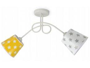 Stropní svítidlo LORETTA STARS KIDS O2