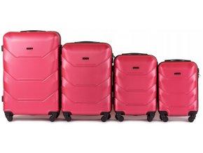 Cestovní Kufr CARBON - Růžový 2