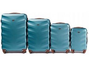 Cestovní Kufr ADAMANT - Modrý