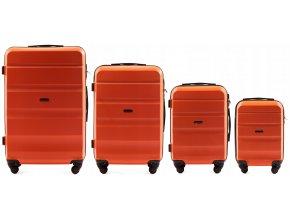Cestovní Kufr ALESTO - Oranžový