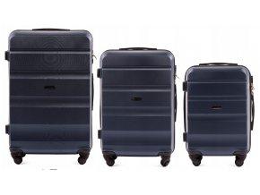 Cestovní Kufr ALESTO - Tmavě Modrý