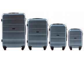 Cestovní Kufr ALESTO - Modrý