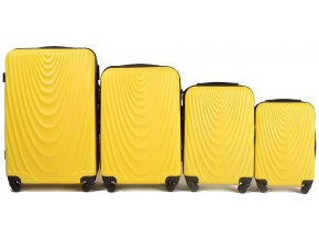 Cestovní Kufr Wave - Žlutý