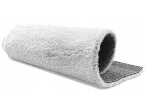 Plyšový koberec OSLO - Bílý