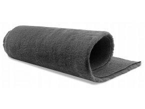 Plyšový koberec OSLO - Tmavě Šedý