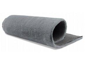 Plyšový koberec OSLO - Šedý