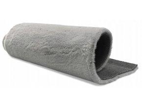 Plyšový koberec OSLO - Světle Šedý