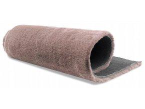 Plyšový koberec OSLO - Světle Růžový