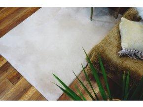 Plyšový koberec OSLO - Krémový