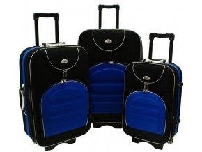 Cestovní Kufr CODUR - Modrý - Černý