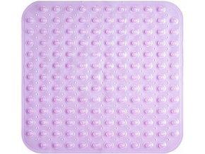 Protiskluzová Koupelnová Podložka 53x54 - Růžová