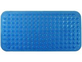 Protiskluzová Koupelnová Podložka 79x39 - Modrá