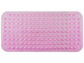 Protiskluzová Koupelnová Podložka 79x39 - Růžová