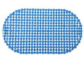 Protiskluzová Koupelnová Podložka OPEN 69x39 - Modrá