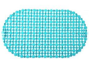 Protiskluzová Koupelnová Podložka OPEN 69x39 - Zelená