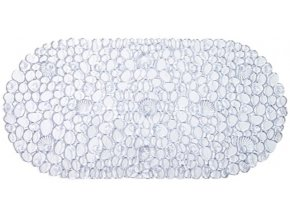 Protiskluzová Koupelnová Podložka ROCK 69x39 - Bílá
