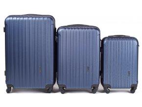 Cestovní Kufr ACE - Tmavě Modrý 2