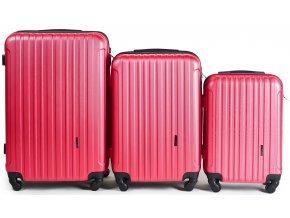Cestovní Kufr ACE - Růžový