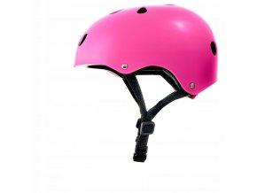 Cyklistická přilba SAFETY Růžová10