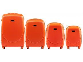 Cestovní Kufr TALASSA PREMIUM - Oranžový