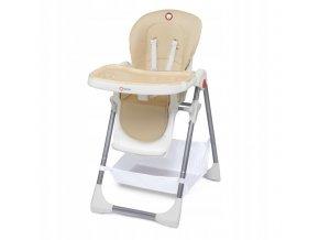 Jídelní židlička LENN PLUS Béžová1
