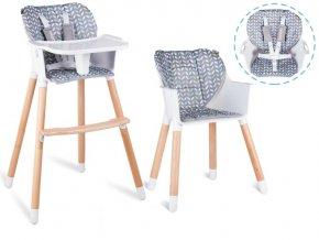 Jídelní židlička KEON 2v1 Multicolor